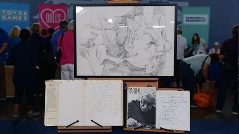 Antiques Roadshow -- S21 Ep17: Appraisal: Roberto Burle Marx Ink Drawing & Books,