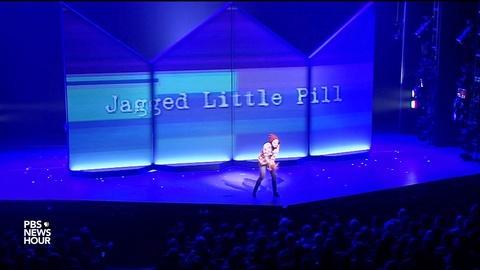 PBS NewsHour -- 'Jagged Little Pill' becomes a musical -- and a metaphor