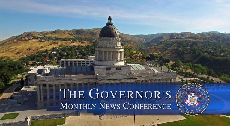 Governor's Monthly News Conference: February