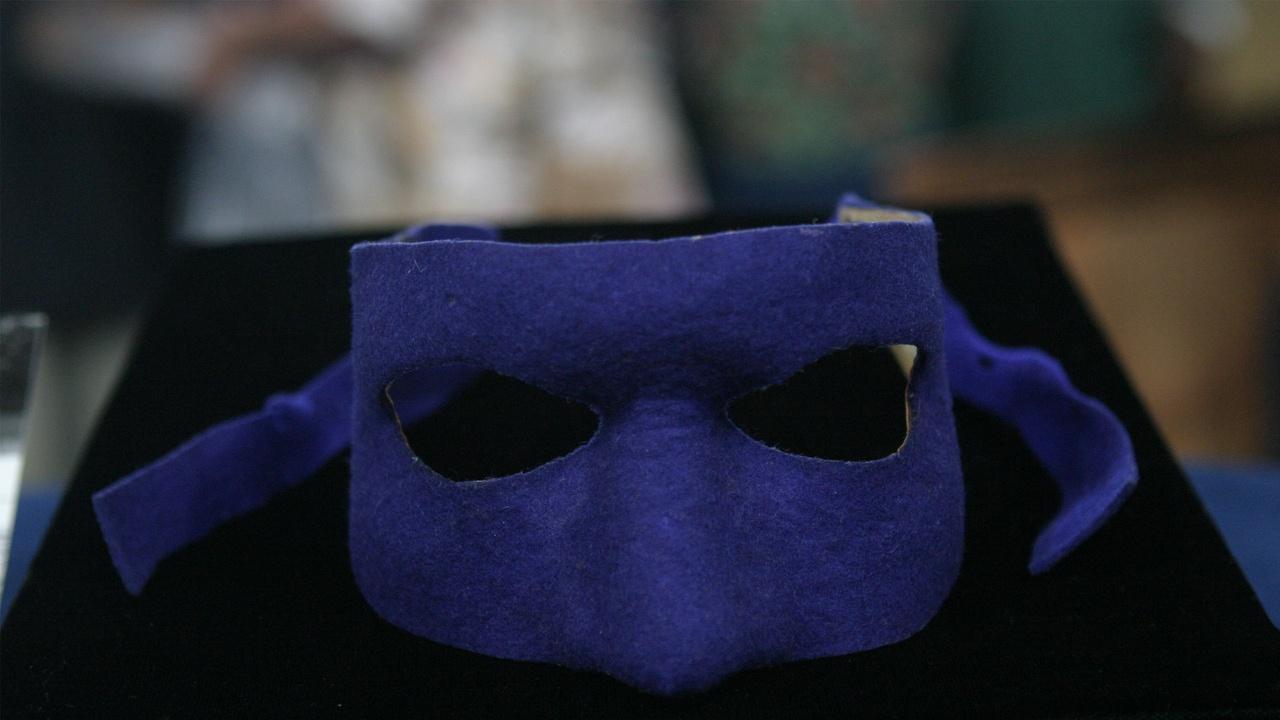 Appraisal: 1951 Inscribed Lone Ranger Mask