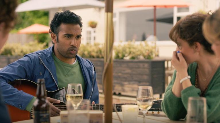 "Flicks: Himesh Patel & Lily James for ""Yesterday"""
