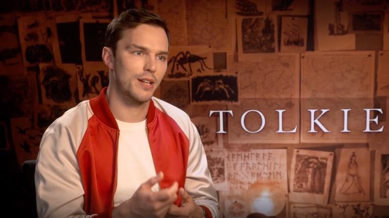 """Flicks: Nicholas Hoult for """"Tolkien"""""""