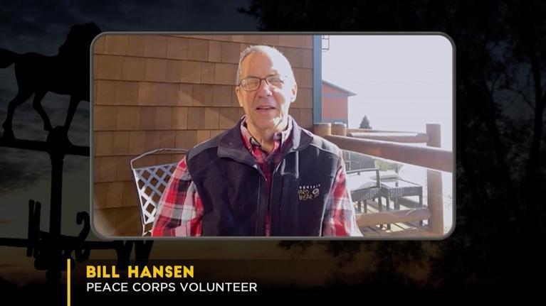 Almanac: Peace Corps Volunteer Bill Hansen Returns from Uganda