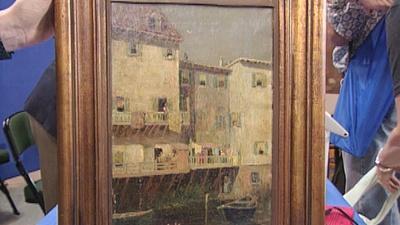 Antiques Roadshow | Appraisal: Robert Blum Painting, ca. 1885
