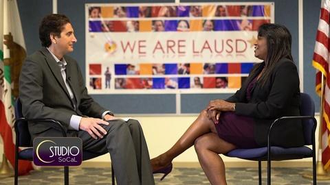 Studio SoCal -- LAUSD School Superintendent Speaks Out
