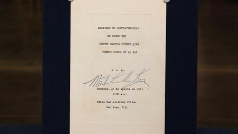 Antiques Roadshow -- S21: Web Appraisal: 1965 Dr. Martin Luther King, Jr.-signed