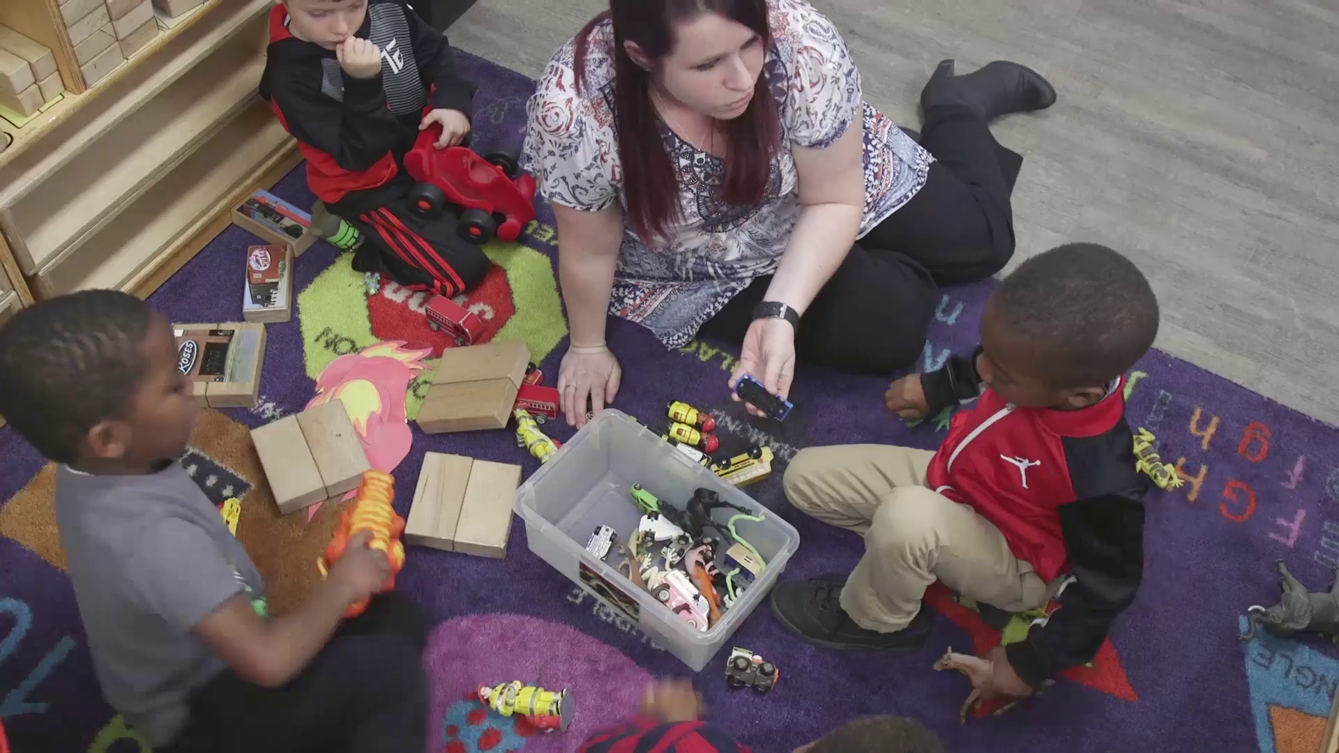 Forsyth County Pre-K's STEAM Emphasis for Students