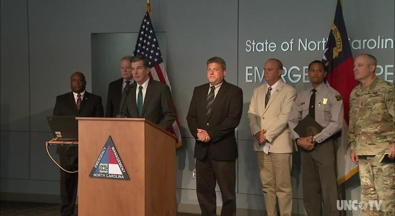 NC Emergency Management and Weather: NC Gov. R. Cooper: Weather Briefing: 12:30 PM 06/10/19
