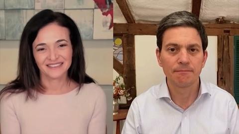 Sheryl Sandberg & David Miliband