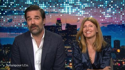 Amanpour and Company -- Rob Delaney & Sharon Horgan on Love, Grief and Laughter