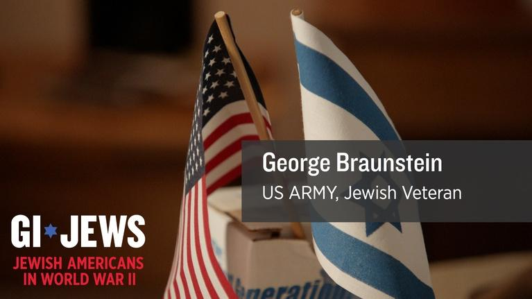 WUCF Veteran's Stories: GI Jews: George Braunstein's first experience in War
