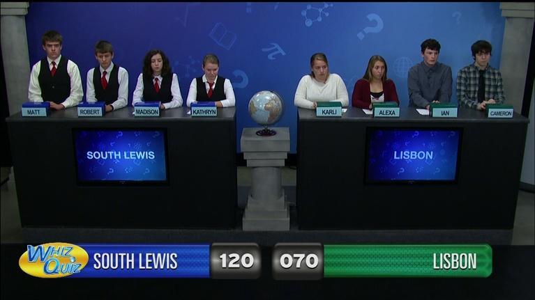 Whiz Quiz: South Lewis vs. Lisbon
