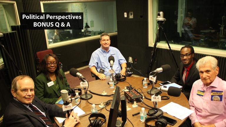 WFSU Perspectives: Political Perspectives: Tallahassee City Comm. Seat 5(BONUS)