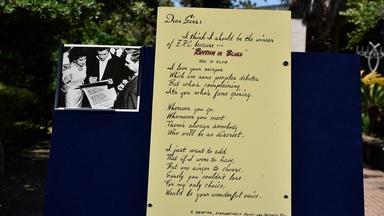 1956 Elvis Presley-signed Postcard