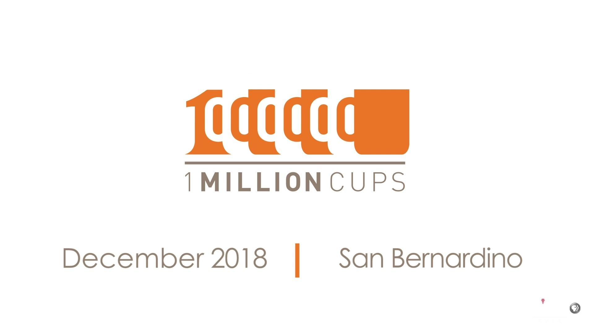 One Million Cups December 2018