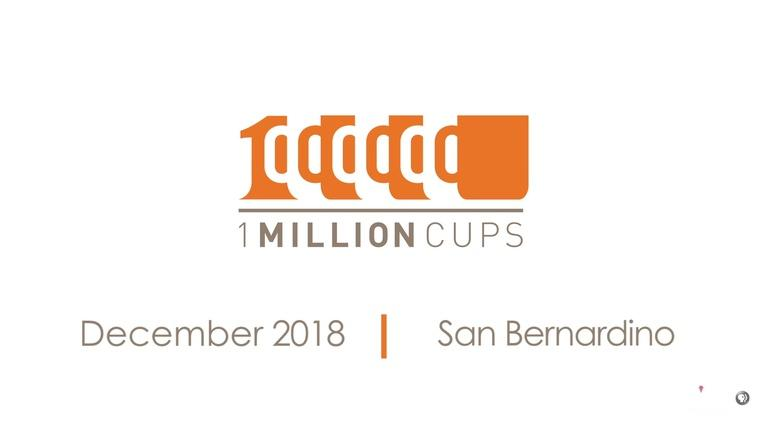 State of the Empire: One Million Cups December 2018