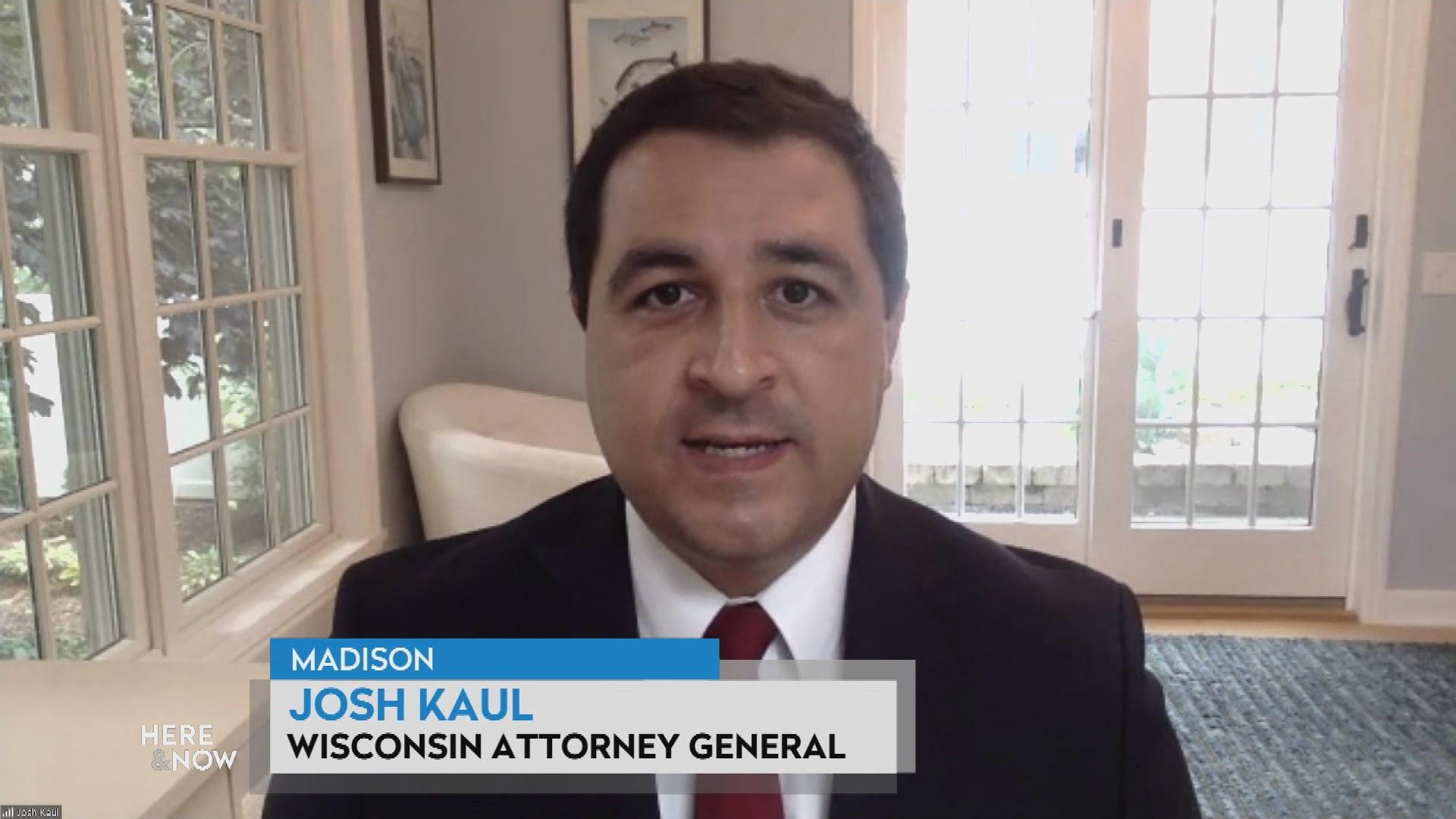 Attorney General Josh Kaul on the Kenosha Shooting