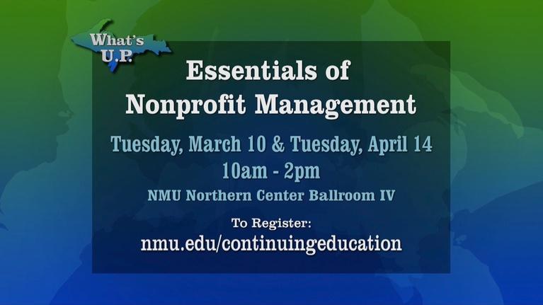 What's U.P.: Essentials for Non-Profit Management