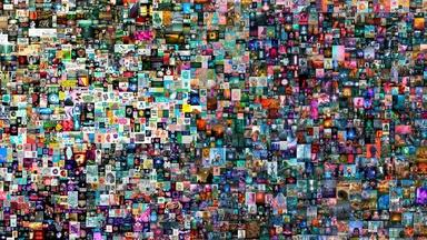 Record-breaking sale of digital art makes history