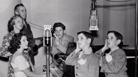 Country Music -- Betty Johnson: The Johnson Family Singers 1930s