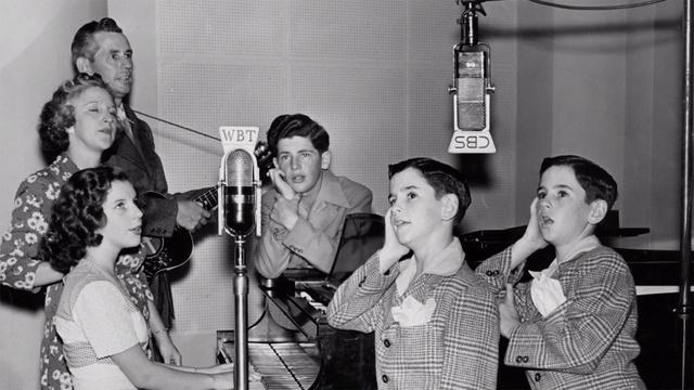 Betty Johnson: The Johnson Family Singers 1930s