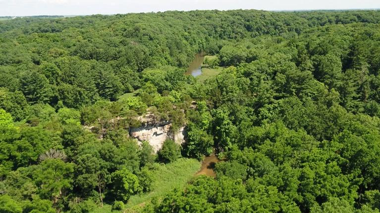 Iowa Outdoors: Iowa State Parks By Air