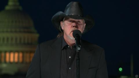 "National Memorial Day Concert -- Trace Adkins Performs ""If the Sun Comes Up"""