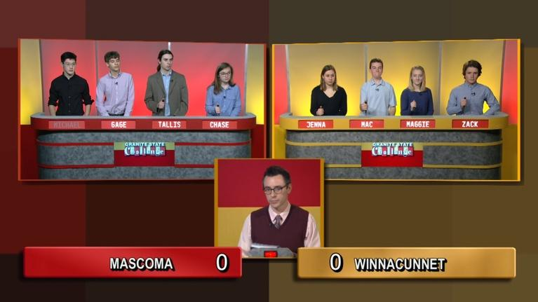 Granite State Challenge: Winnacunnet vs. Mascoma Valley | 2019 Wild Card Game