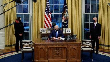Biden reverses Trump administration policies on immigration
