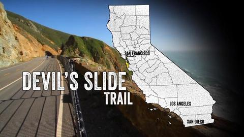 California Coastal Trail -- Devil's Slide Trail