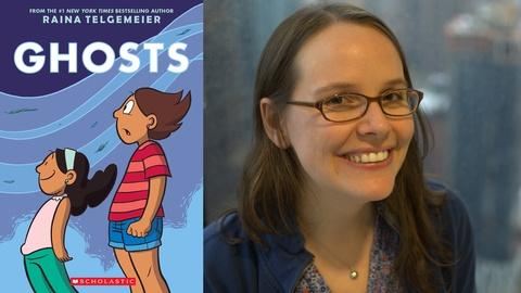 S3 E3: Raina Telgemeier at Book Expo America 2016
