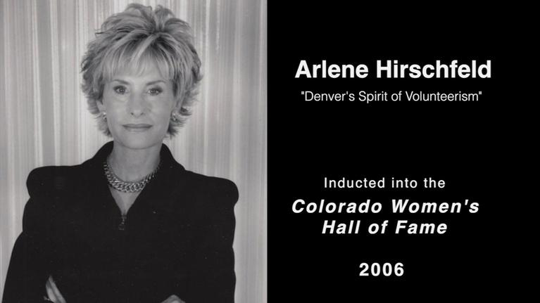 Great Colorado Women: Arlene Hirchfeld