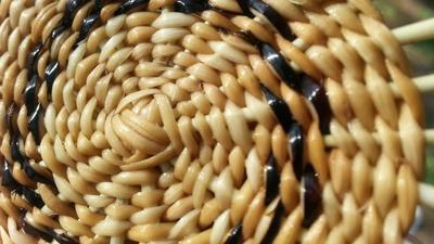 Craft in America | Pomo twine baskets