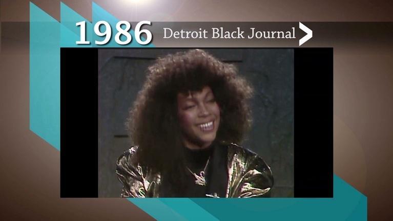 American Black Journal: 1986 Detroit Black Journal Interview: Mary Wilson