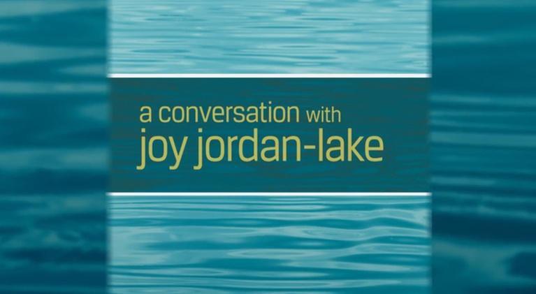 Community Conversations: A Conversation with Joy Jordan-Lake