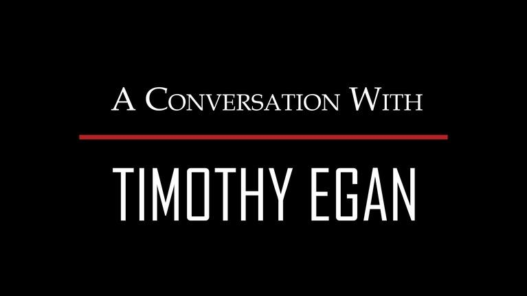 Days of Dust : A Conversation with Timothy Egan