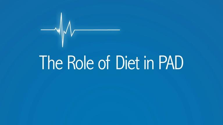 The Latest Procedure: The Role of Diets in PAD