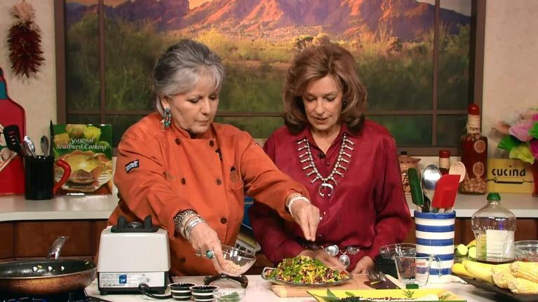 Savor the Southwest Fiesta: Three Sisters Saute with Sage Pesto