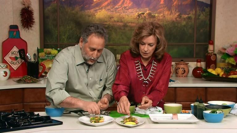 Savor the Southwest Fiesta: Yellowtail Ceviche with Mangos, Basil, Ginger