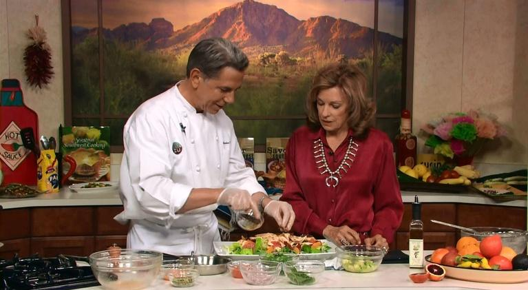 Savor the Southwest Fiesta: Chicken & Arizona Citrus Salad