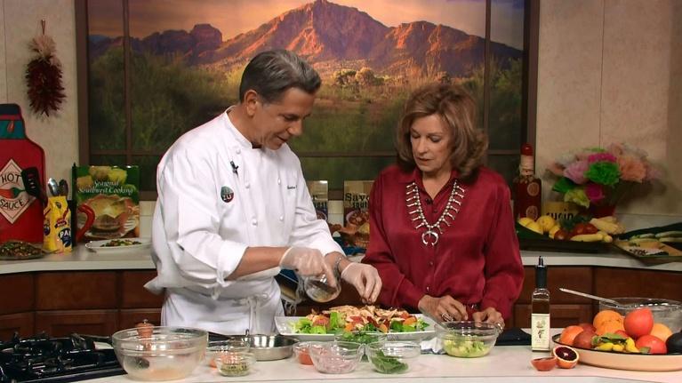 Savor the Southwest Fiesta: Chicken & Arizona Citrus Salad