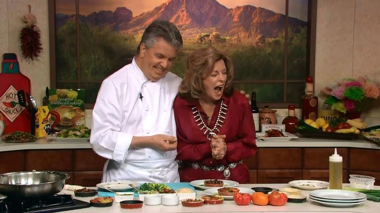 Savor the Southwest Fiesta: Leek & Tomato Tarts