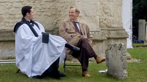 Grantchester -- Tom Brittney & Robson Green On...