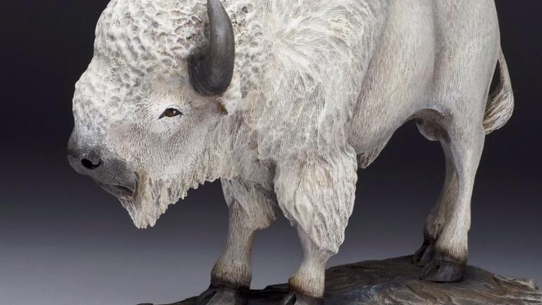 Profiles: Rick Jensen: White Bison Woodcarving