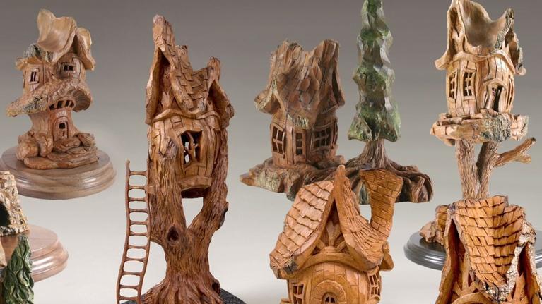Profiles: Rick Jensen: Tree House Woodcarvings (Part 1)