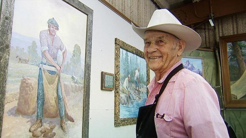 The Last Cowboy Painter