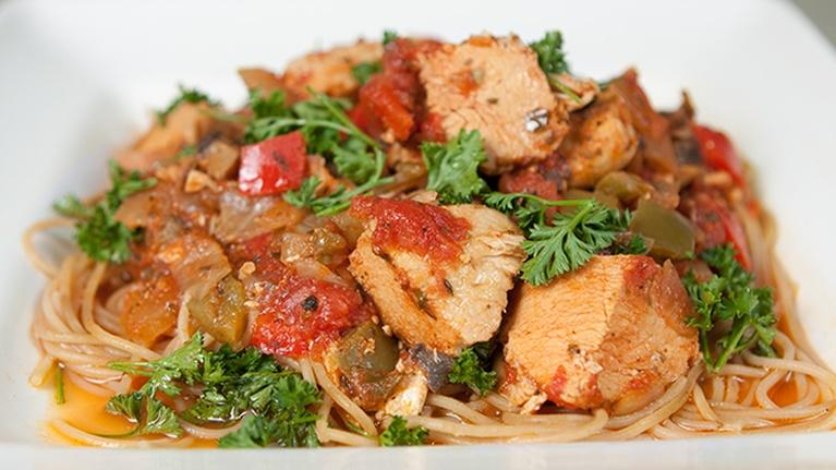 KCTS 9 Cooks: Quick & Easy Chicken Cacciatore