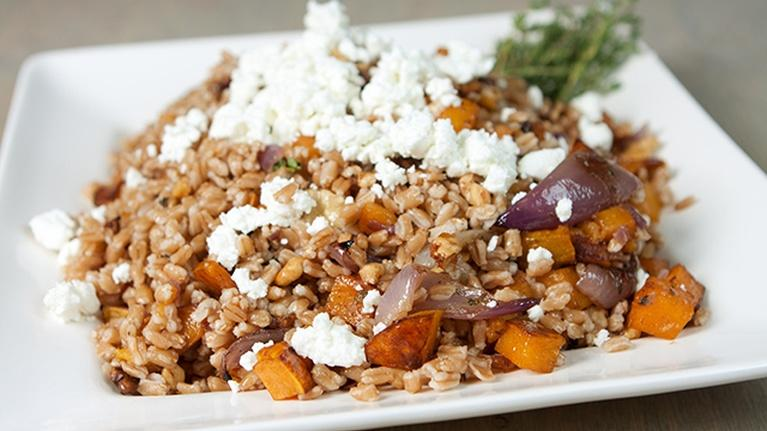 KCTS 9 Cooks: Farro & Roasted Butternut Squash