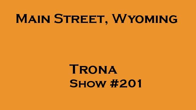 Trona, Main Street, Wyoming #201