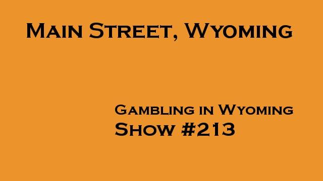 Gambling in Wyoming